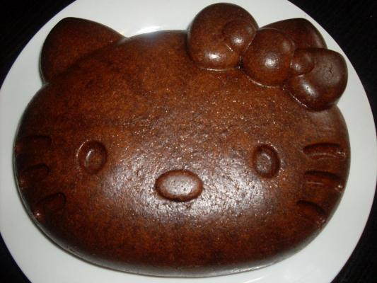 Gateau Hello Kitty chocolat